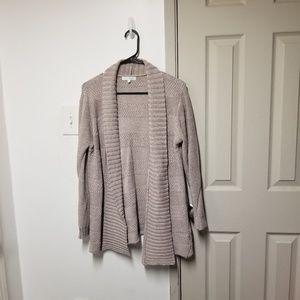 Honey belle open knit cardigan